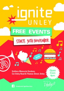 Ignite Unley Poster